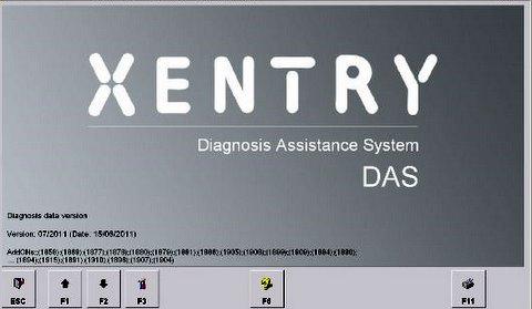mercedes diagnostika